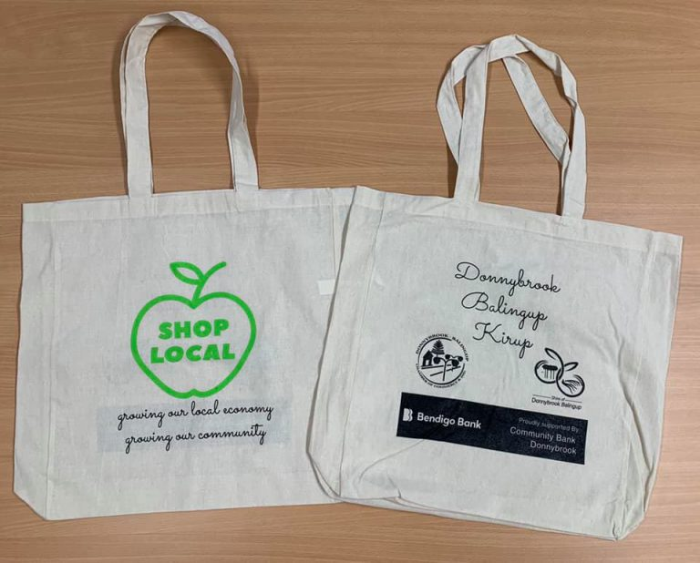 SHOP LOCAL BAGS ARE HERE!