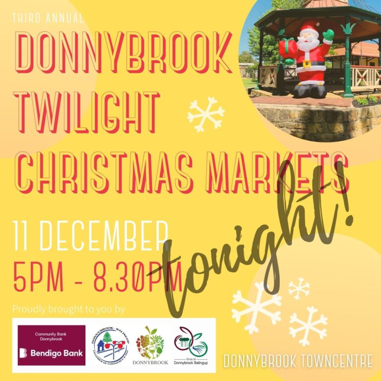 DONNYBROOK TWILIGHT MARKETS TONIGHT