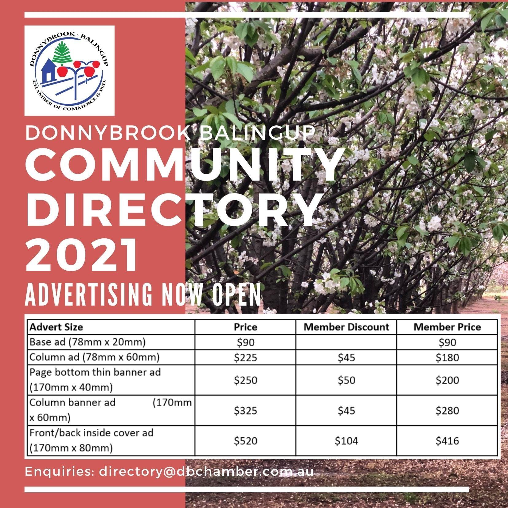 News - Donnybrook Balingup Chamber of Commerce