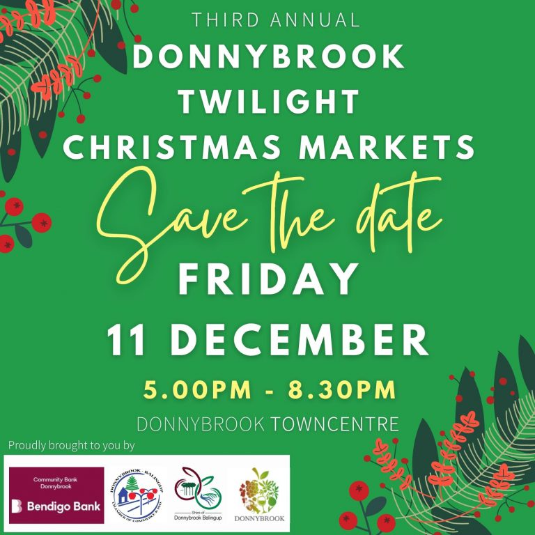 2020 DONNYBROOK TWILIGHT CHRISTMAS MARKETS – Save the Date