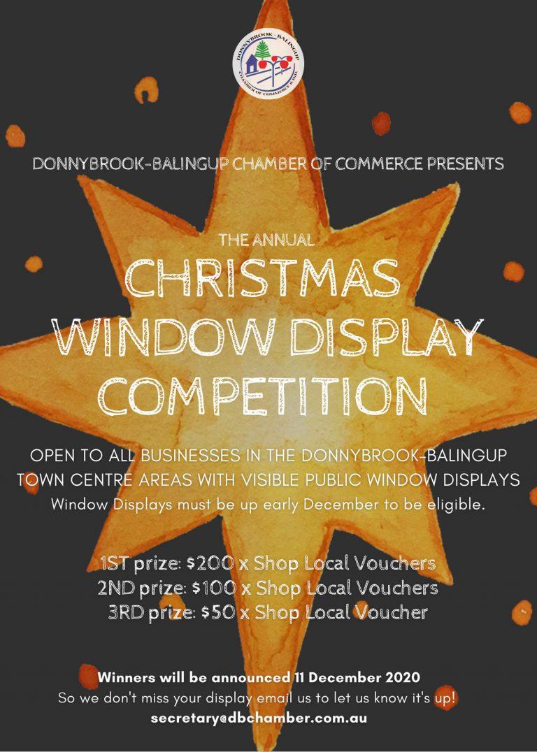 2020 CHRISTMAS WINDOW DISPLAY COMPETITION