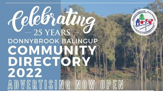 2022 COMMUNITY DIRECTORY ADVERTISING NOW OPEN!