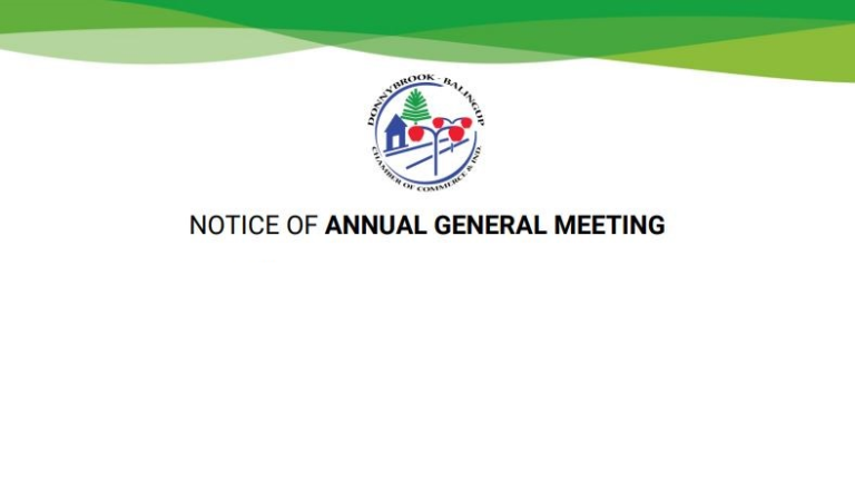2021 ANNUAL GENERAL MEETING NOTICE
